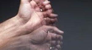 لرزش دستها