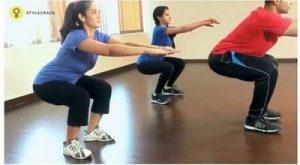 آموزش نکات حرکت اسکوات برای تقویت عضلات رحم